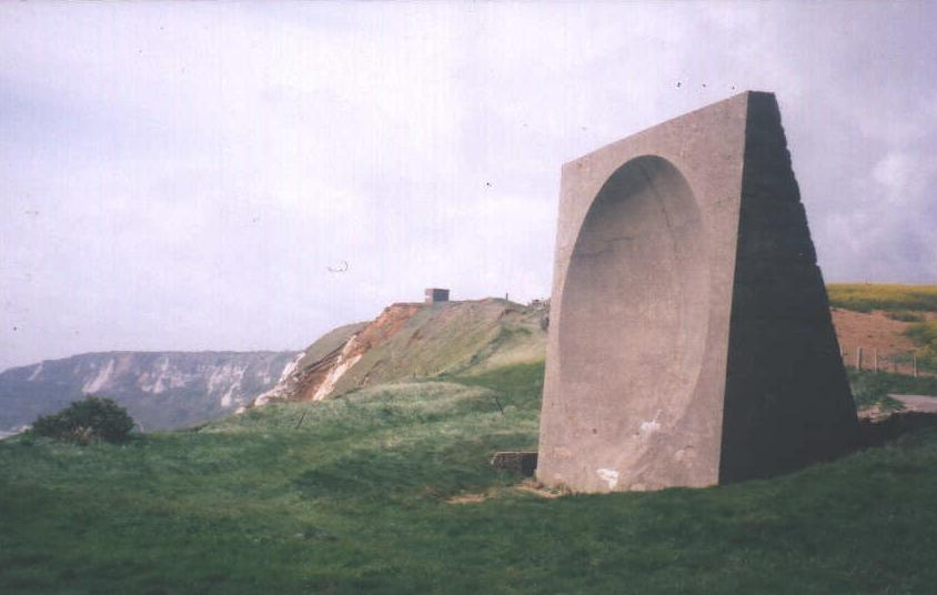 Accot's Cliff Sound mirror