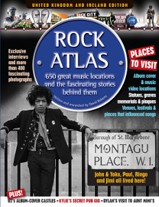 Rock Atlas book front cover