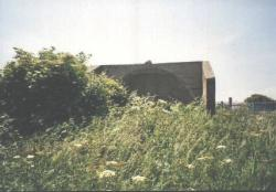 [Front view of the Sunderland sound mirror]