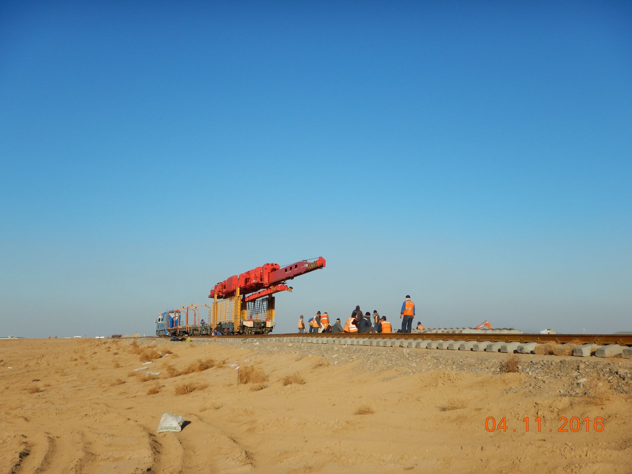 Construction of Turkmenistan to Afghanistran railway