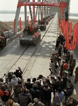 Withdrawal of Soviet troops from Afghanistan, 1 October 1989
