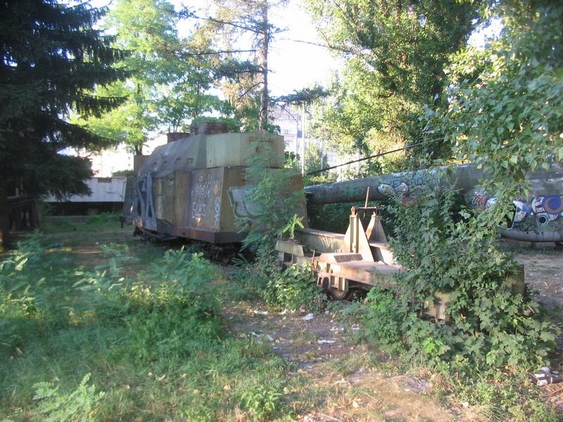Armoured train in Sarajevo
