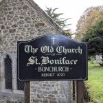 Old Church of St Boniface. Bonchurch, Isle of Wight, 10 October 2020 (22)